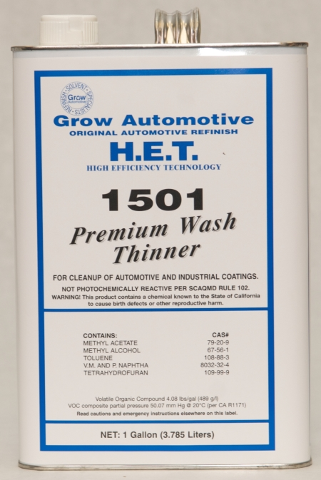 Grow Automotive 1501 Premium Wash Thinner Gallon