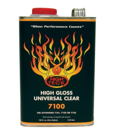 High Teck 7100 High Gloss Universal Urethane Clearcoat - Gallon
