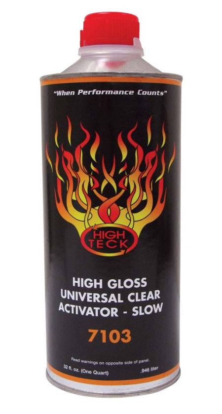 High Teck 7103 High Gloss Universal Urethane Clear Activator-SLOW Quart