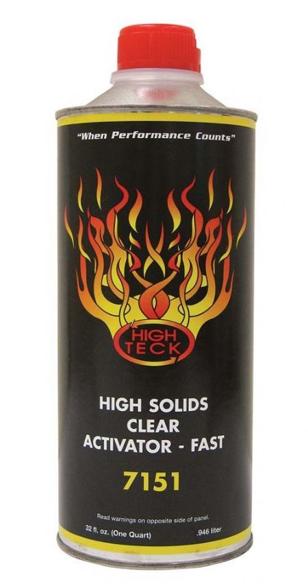 High Teck 7151 High Solids Urethane Clear Activator Fast Quart