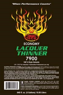 High Teck 7900 Economy Lacquer Thinner Gallon