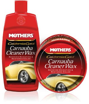 Mothers California Gold Carnuba Cleaner Wax
