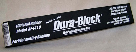 DURA-BLOCK AF4419 Full Hook & Loop Sanding Block