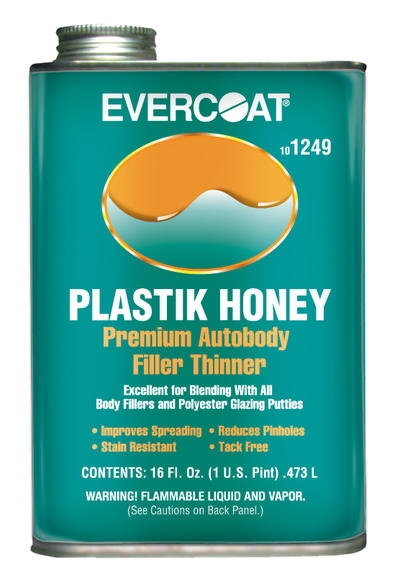 Evercoat Plastik Honey Body Filler Thinner Pint