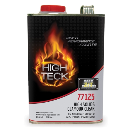 High Tech 77125 High Solids Glamour Clearcoat Gallon
