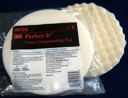 "3M 05723 8"" Perfect-It Foam Compounding Pads"