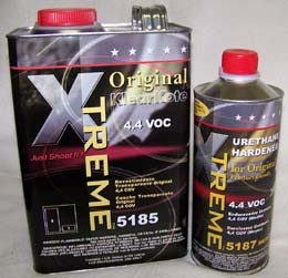 5 Star Xtreme Original Urethane Clearcoat Gallon Kit