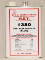 Grow Automotive 1380 Urethane Reducer SLOW Gallon