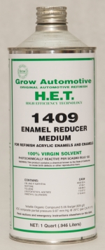 Grow Automotive Acrylic Enamel Reducer Medium Quart