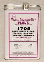 Grow Automotive 1705 Wax Grease Silicone Remover Gallon