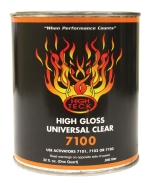 High Teck 7100 High Gloss Universal Urethane Clearcoat - Quart