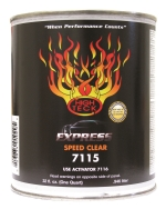 High Tech 7115 Express Speed Clearcoat - Quart