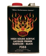 High Teck 7355 High Solids Acrylic Lacquer Primer Hot Rod Black - Gallon