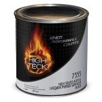 High Teck 7355 High Solids Acrylic Lacquer Primer Hot Rod Black - Quart