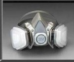 3M Half Face Dual Cartridge Respirator