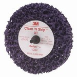 3M Scotch Brite Roloc + Clean & Strip IX Disc Purple