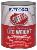 Evercoat 151 High Production Light Weight Plastic Filler